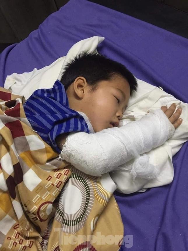 Hỗ trợ gia đình cháu bé 8 tuổi tai nạn thương tâm ở Lạng Sơn ảnh 1