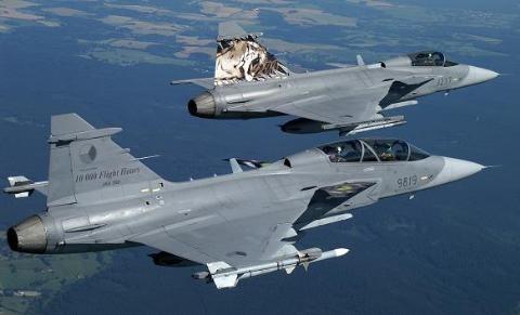 30% thành phần linh kiện của máy bay Gripen do các hãng Anh cung cấp