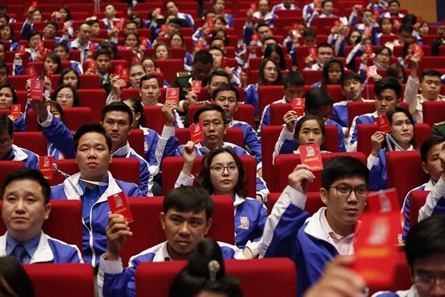 Ngày đầu tiên Đại hội Đoàn toàn quốc lần thứ XI ảnh 35