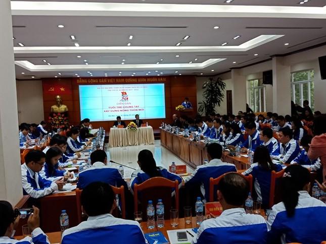Ngày đầu tiên Đại hội Đoàn toàn quốc lần thứ XI ảnh 46