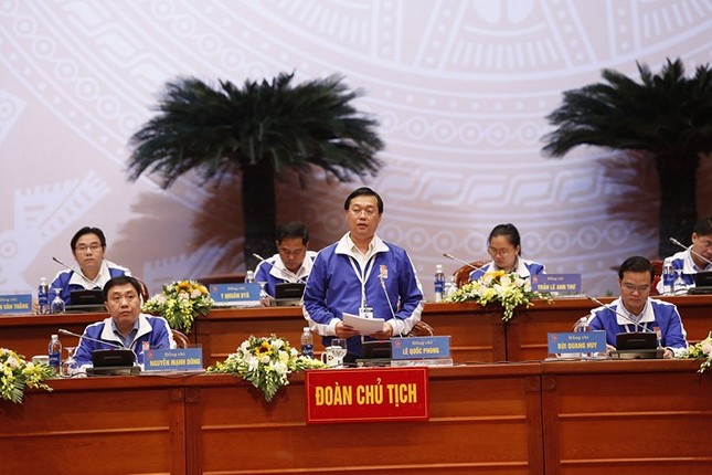 Ngày đầu tiên Đại hội Đoàn toàn quốc lần thứ XI ảnh 37