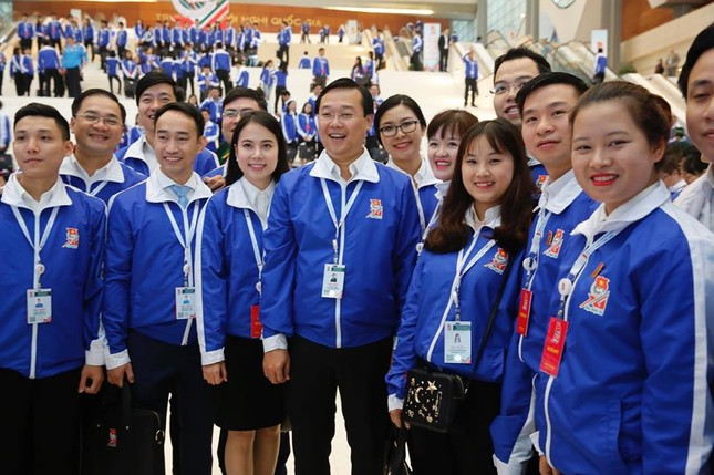 Ngày đầu tiên Đại hội Đoàn toàn quốc lần thứ XI ảnh 24