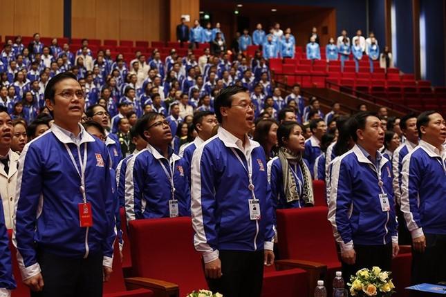 Ngày đầu tiên Đại hội Đoàn toàn quốc lần thứ XI ảnh 32