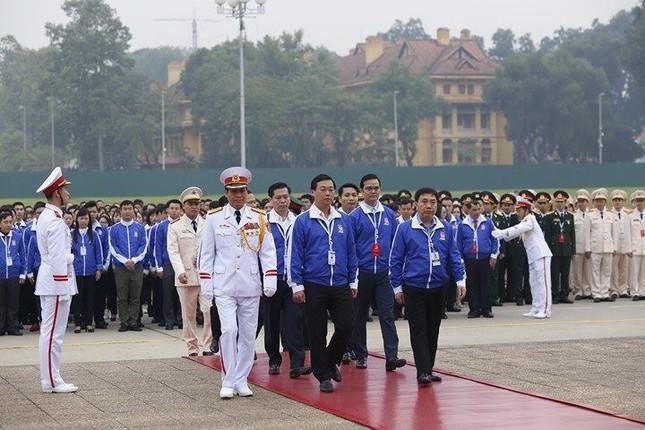 Ngày đầu tiên Đại hội Đoàn toàn quốc lần thứ XI ảnh 10