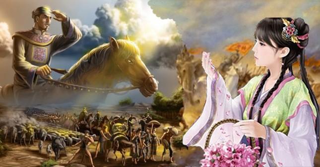 Lần đầu gặp vua Lý Thánh Tông, Nguyên Phi Ỷ Lan đang làm gì?