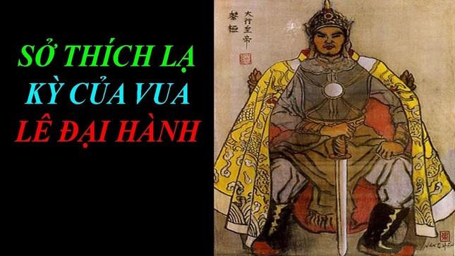 Khi tiếp sứ giả nhà Tống, Lê Hoàn có những sở thích kỳ lạ gì?