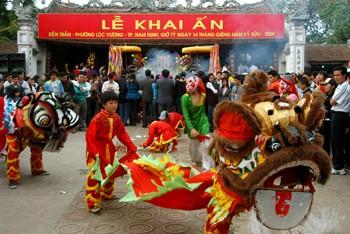 Lễ Khai ấn đền Trần Nam Định có ý nghĩa như thế nào?