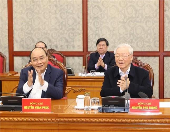 Tổng Bí thư, Chủ tịch nước chủ trì phiên họp đầu tiên của Bộ Chính trị, Ban Bí thư khóa XIII ảnh 4