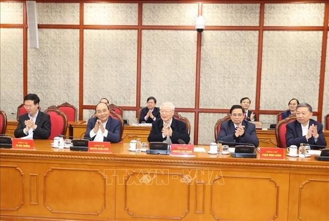 Tổng Bí thư, Chủ tịch nước chủ trì phiên họp đầu tiên của Bộ Chính trị, Ban Bí thư khóa XIII ảnh 5
