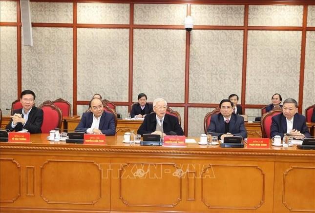 Tổng Bí thư, Chủ tịch nước chủ trì phiên họp đầu tiên của Bộ Chính trị, Ban Bí thư khóa XIII ảnh 6