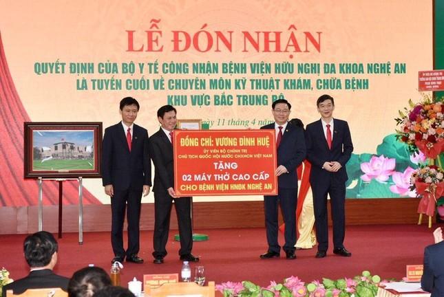 Bệnh viện HNĐK Nghệ An trở thành Bệnh viện tuyến cuối của Bắc Trung Bộ ảnh 3
