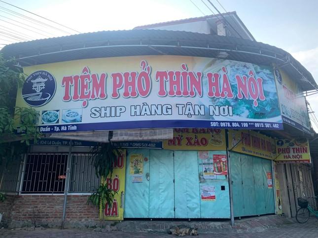 Dịch chồng dịch: Nhiều quán phở, ki ốt kinh doanh thịt bò, lợn ở Hà Tĩnh phải đóng cửa ảnh 1