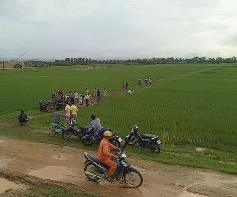 Trên đường kéo lúa về nhà, người đàn ông bị sét đánh tử vong ảnh 1
