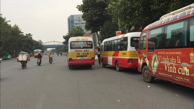 Bát nháo xe buýt tại thành phố Vinh ảnh 3