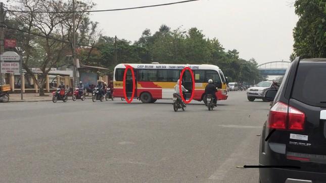 Bát nháo xe buýt tại thành phố Vinh ảnh 4