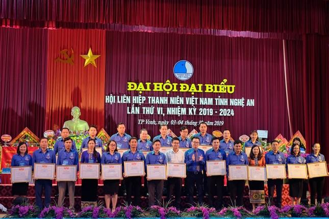 Khai mạc đại hội đại biểu Hội LHTN Việt Nam tỉnh Nghệ An lần thứ VI ảnh 5
