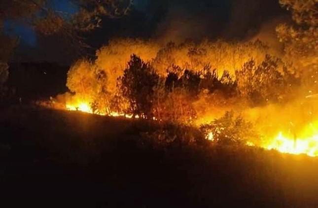 600 người nỗ lực dập lửa cứu rừng cháy lớn ở Nghệ An ảnh 2