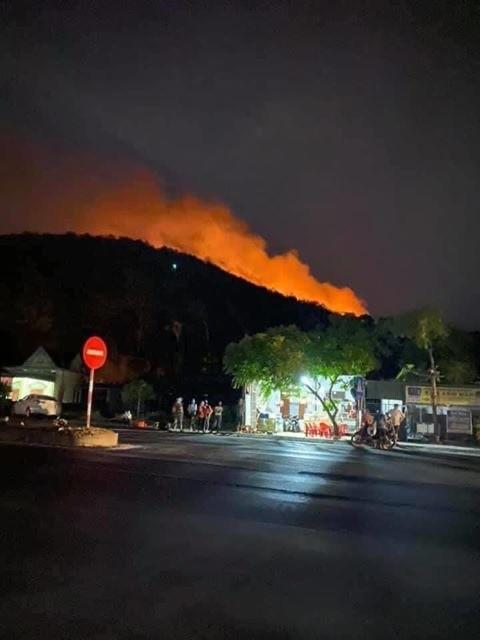 Di dời trên 200 hộ dân gần khu vực cháy rừng ở Nghệ An ảnh 4