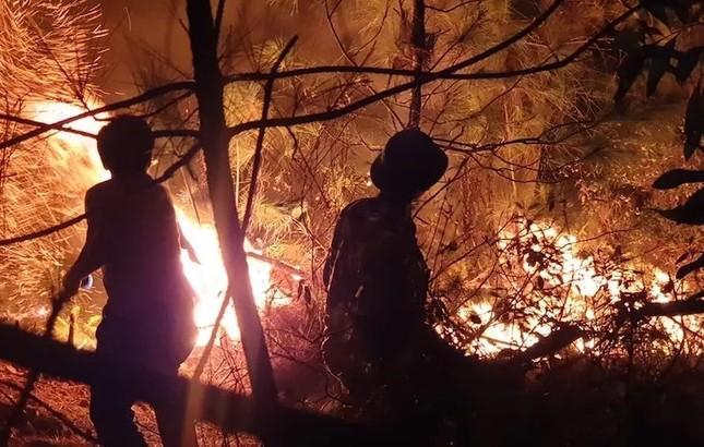 Hàng nghìn người trắng đêm dập lửa cứu rừng Nghệ An, Hà Tĩnh ảnh 2