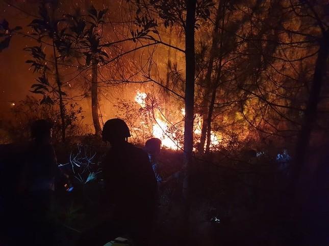 Hàng nghìn người trắng đêm dập lửa cứu rừng Nghệ An, Hà Tĩnh ảnh 1