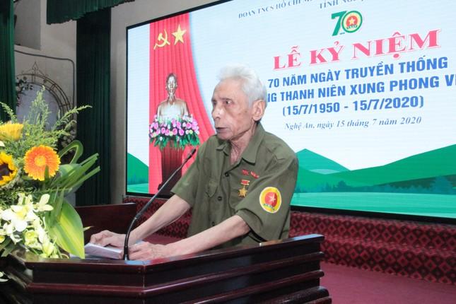 Nghệ An kỷ niệm 70 năm ngày truyền thống lực lượng TNXP ảnh 1