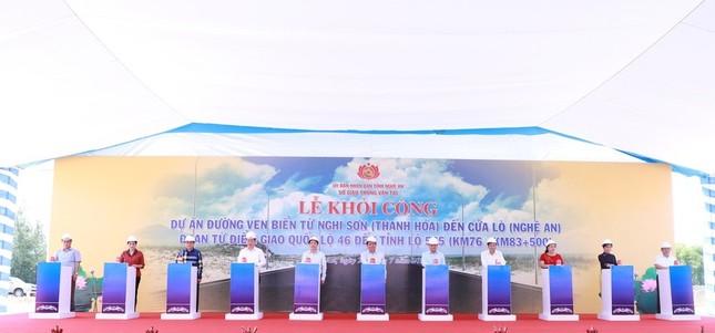 Khởi công dự án 521 tỷ ven biển Nghi Sơn - Cửa Lò ảnh 2