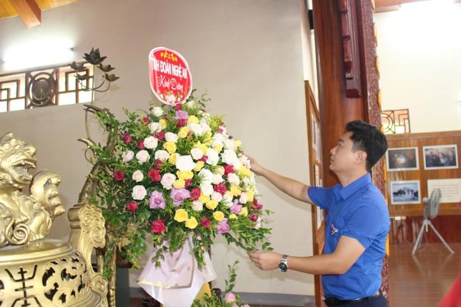 Tuổi trẻ Nghệ An dâng hương, dâng hoa tưởng niệm nhà cách mạng Nguyễn Thị Minh Khai ảnh 2