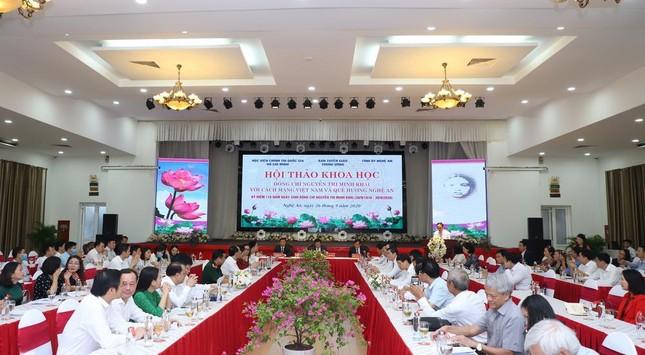 Đồng chí Nguyễn Thị Minh Khai với cách mạng và quê hương Nghệ An ảnh 2