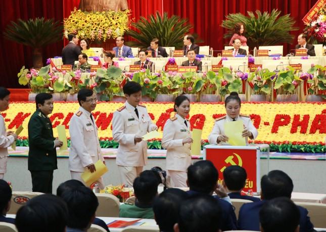 Kết quả bầu Ban Chấp hành Đảng bộ tỉnh Nghệ An khóa 19 ảnh 5