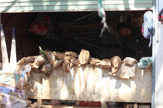 Sau lũ, rác thải tràn ngập, nguy cơ bùng phát dịch bệnh cao ảnh 7