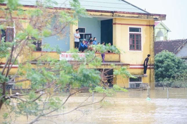 Sống trên nóc nhà, người dân Quảng Bình khắc khoải chờ lũ rút ảnh 8