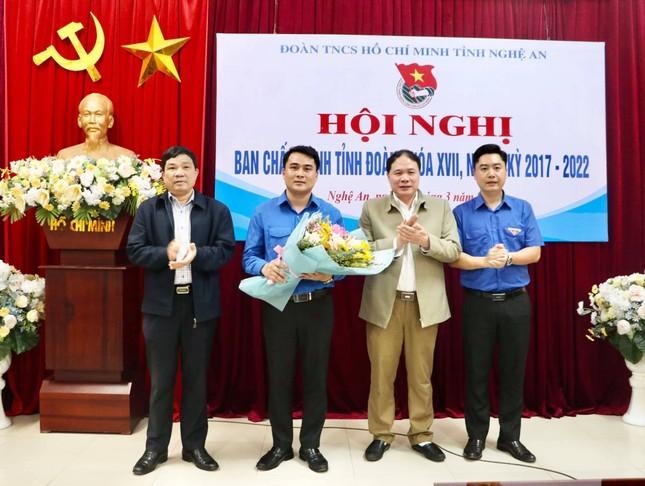 Anh Thái Minh Sỹ được bầu giữ chức Phó Bí thư Tỉnh đoàn Nghệ An ảnh 1