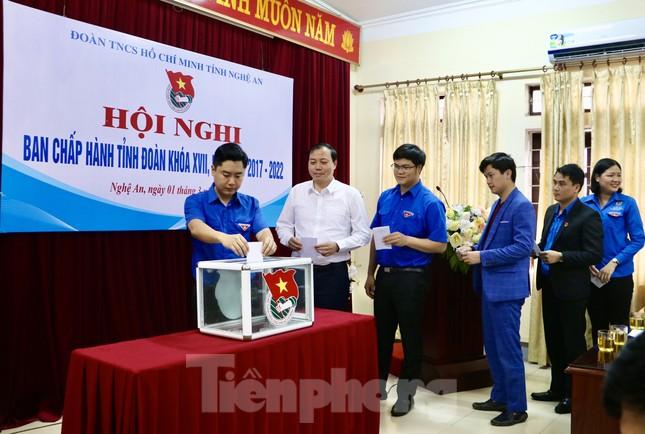 Anh Thái Minh Sỹ được bầu giữ chức Phó Bí thư Tỉnh đoàn Nghệ An ảnh 2