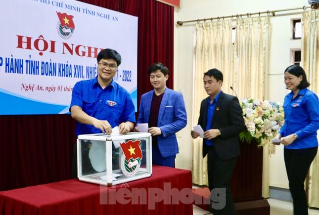 Anh Thái Minh Sỹ được bầu giữ chức Phó Bí thư Tỉnh đoàn Nghệ An ảnh 4