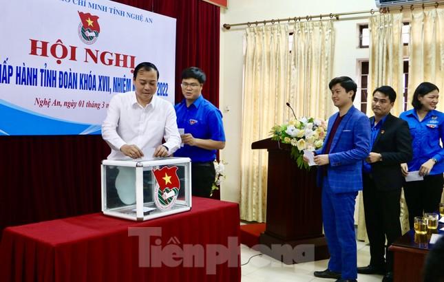 Anh Thái Minh Sỹ được bầu giữ chức Phó Bí thư Tỉnh đoàn Nghệ An ảnh 3