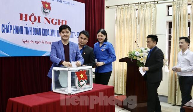 Anh Thái Minh Sỹ được bầu giữ chức Phó Bí thư Tỉnh đoàn Nghệ An ảnh 7