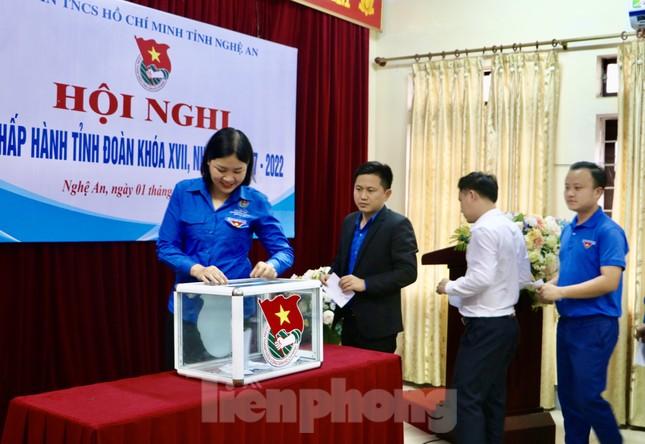 Anh Thái Minh Sỹ được bầu giữ chức Phó Bí thư Tỉnh đoàn Nghệ An ảnh 6