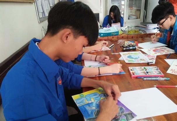 Học sinh Nghệ An nhảy 'Ghen Cô Vy' tuyên truyền phòng chống dịch ảnh 1