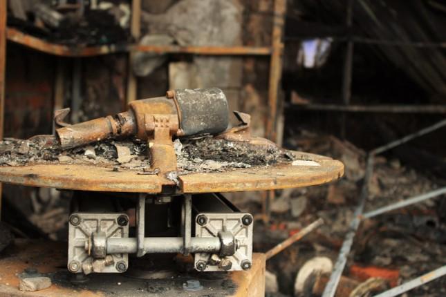 Hiện trường vụ cháy khiến hai ông cháu tử vong ở Hà Tĩnh ảnh 11