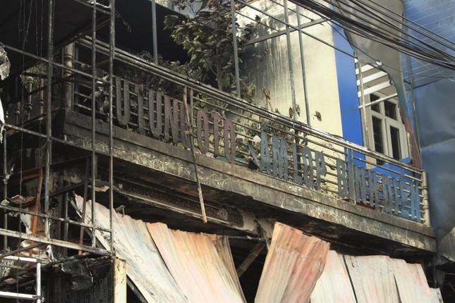 Hiện trường vụ cháy khiến hai ông cháu tử vong ở Hà Tĩnh ảnh 5