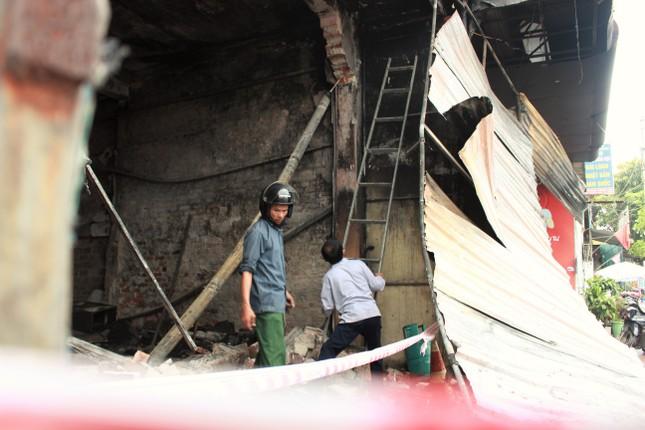 Hiện trường vụ cháy khiến hai ông cháu tử vong ở Hà Tĩnh ảnh 4