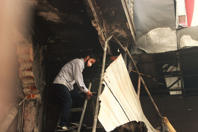 Hiện trường vụ cháy khiến hai ông cháu tử vong ở Hà Tĩnh ảnh 3