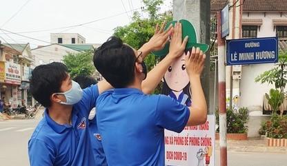 Thanh niên Hà Tĩnh tuyên truyền chống dịch COVID-19 bằng hình chibi ngộ nghĩnh ảnh 5