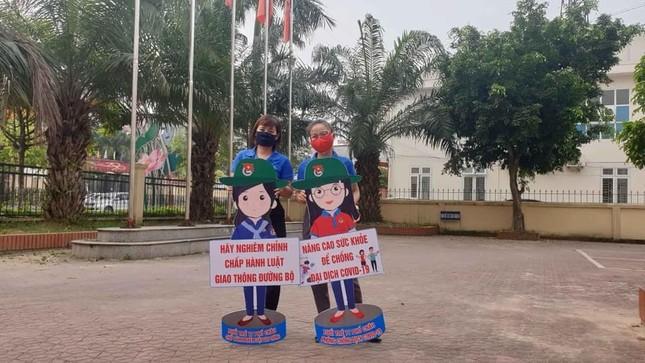 Thanh niên Hà Tĩnh tuyên truyền chống dịch COVID-19 bằng hình chibi ngộ nghĩnh ảnh 2
