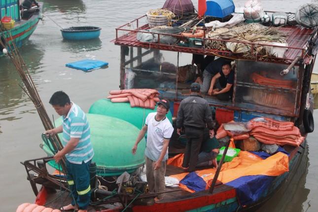 Cảng cá Hà Tĩnh tấp nập người bán, kẻ mua giữa mùa dịch COVID - 19 ảnh 16