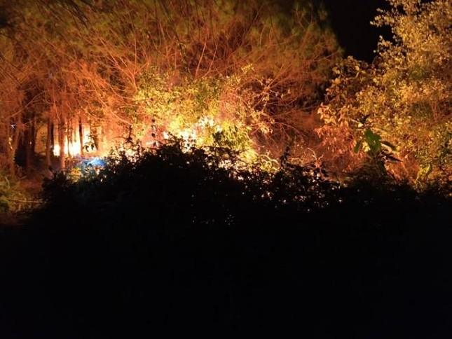 200 người vật lộn nhiều giờ cứu rừng thông, cao su bị giặc lửa tấn công ảnh 1