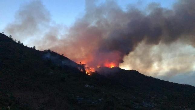 Hàng nghìn người trắng đêm dập lửa cứu rừng Nghệ An, Hà Tĩnh ảnh 10