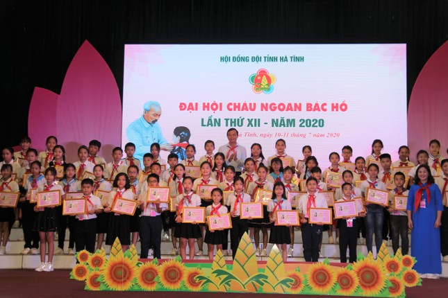 Đại hội Cháu ngoan Bác Hồ tuyên dương 184 đội viên, thiếu nhi tiêu biểu ảnh 3