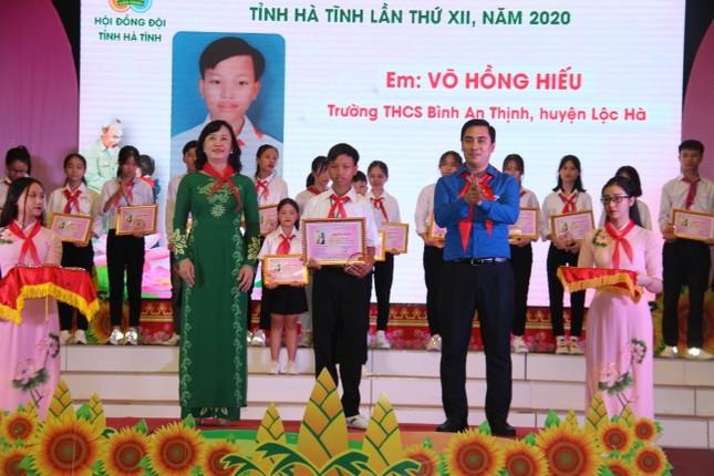 Đại hội Cháu ngoan Bác Hồ tuyên dương 184 đội viên, thiếu nhi tiêu biểu ảnh 2