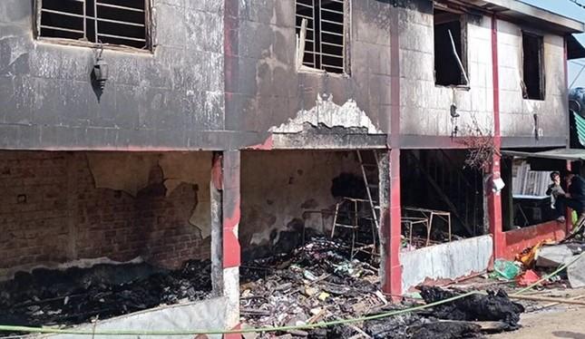 Cháy nhà mùng 1 Tết, cháu bé 11 tuổi tử vong ảnh 1